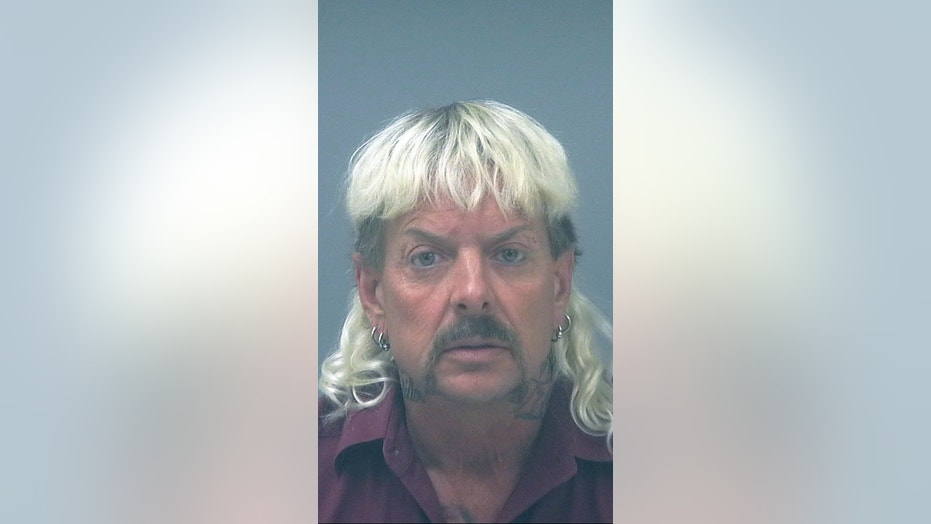 Mugshot for Joe Exotic.