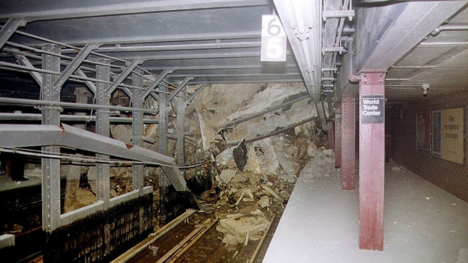 New York City's Cortlandt Street subway station was destroyed in the 9/11 terror attack 17 years ago.