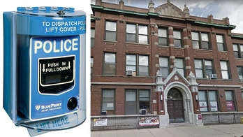 St. Benedict's Preparatory School in Chicago installed a Blue Point Alert Solutions pull station.