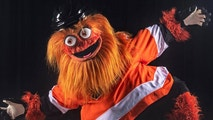 The Philadelphia Flyers inveiled the team's new mascot named Gritty