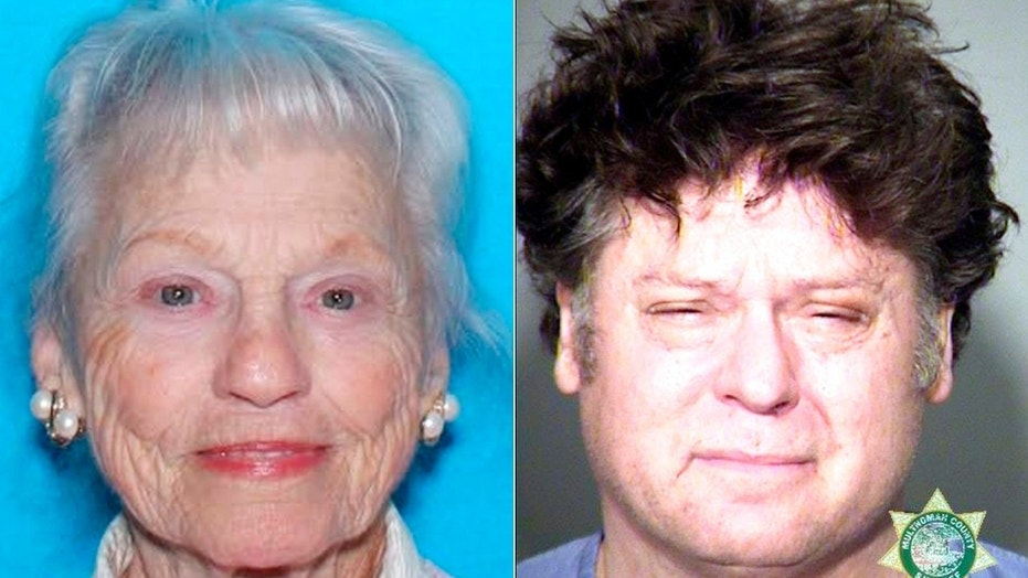 Marcine Herinck, 89, was found dead Monday in the truck of a car Timothy Mackley was driving. He was charged with murder.