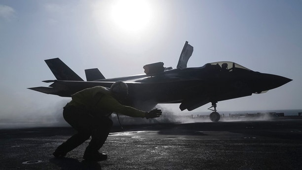 US F-35s poised to make first combat mission