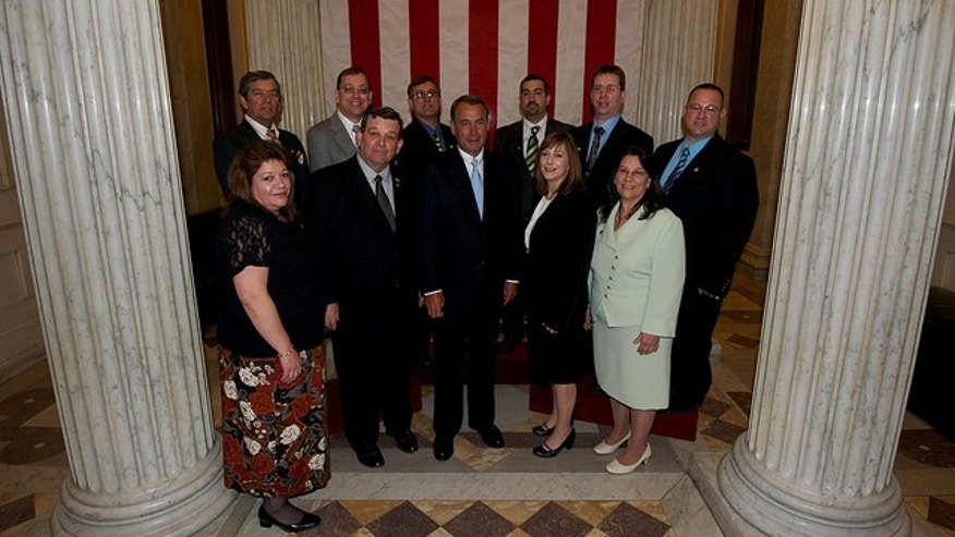 Swearing-in Ceremony for the 112th Congress