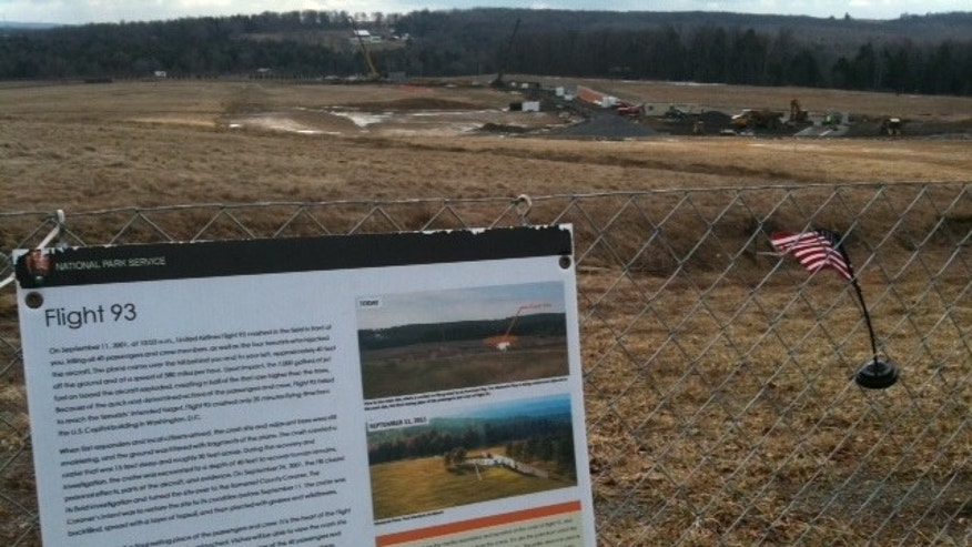 United Flight 93 Memorial Being Constructed at Site of Crash to Honor the Heroes Onboard