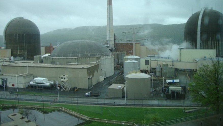 Inside Indian Point Nuclear Plant