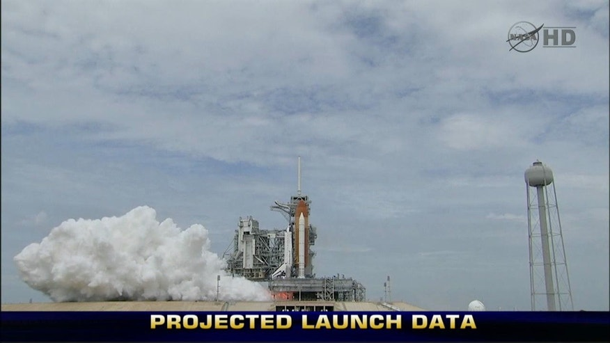 Final Flight: The Last Space Shuttle Rockets Into Space