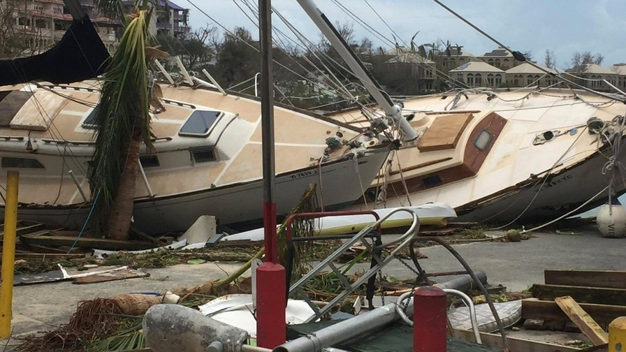 U.S. Virgin Islands hit hard by Hurricane Irma