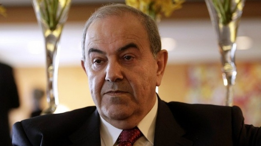 March 19: Electoral challenger Ayad Allawi, pictured above, edged sitting Prime Minister Nouri al-Maliki in hotly contested Parliamentary elections in results announced Friday, March 26. (Reuters)