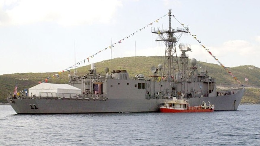 USS Nicholas guided missile frigate