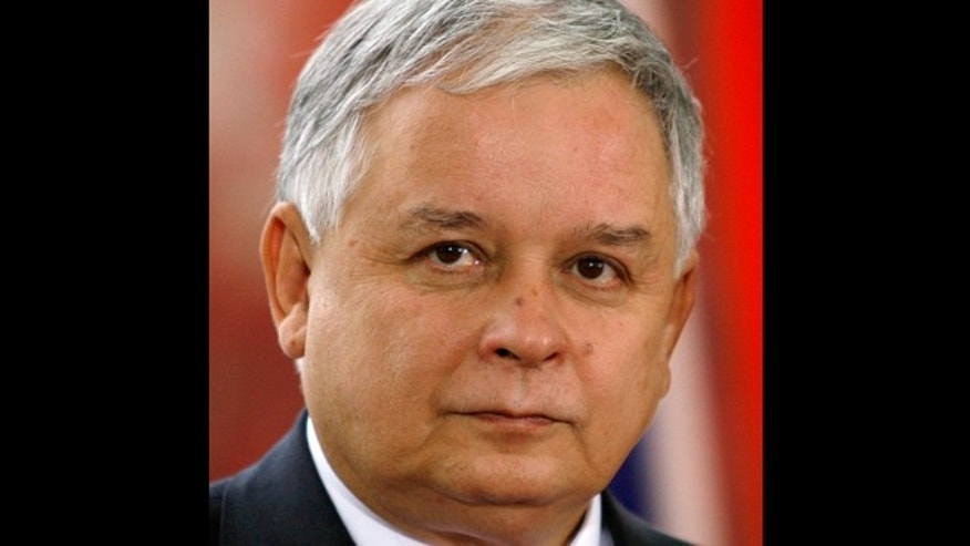 Polish President Lech Kaczynski (pictured) and some of the country's highest military and civilian leaders died when the presidential plane crashed as it came in for a landing in thick fog in western Russia.