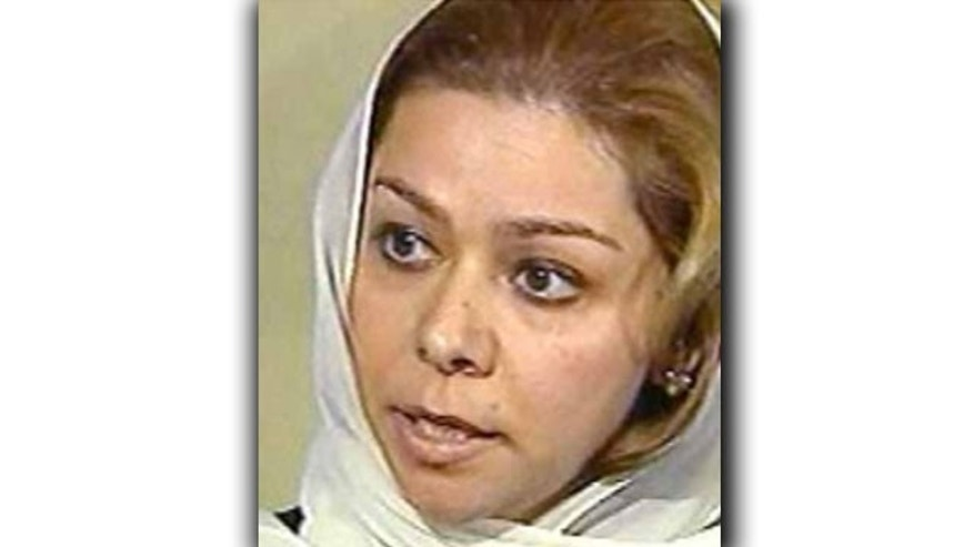 Saddam's eldest daughter has marshaled his defense from her exile in Jordan.