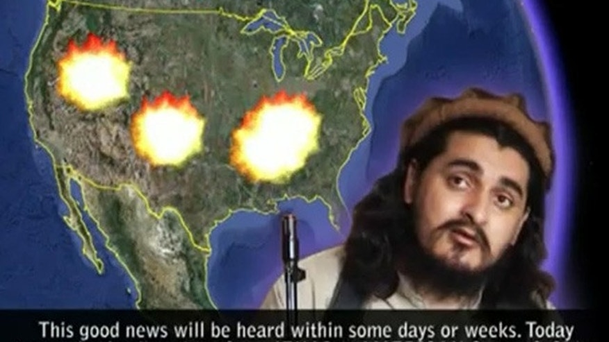 A man believed to be Pakistani Taliban chief Hakimullah Mehsud said in a video he was speaking on April 4, 2010.