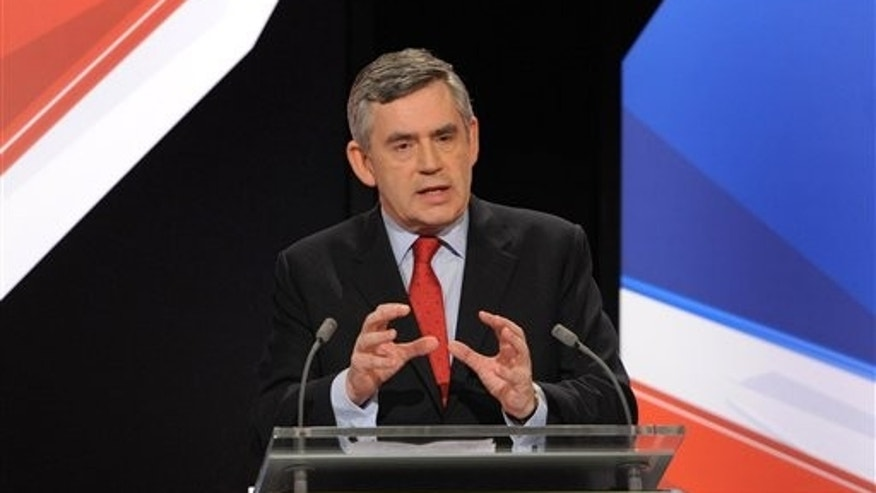 Britain's Prime Minister Gordon Brown.