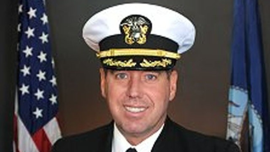 Captain David A. Schnell (U.S. Navy).