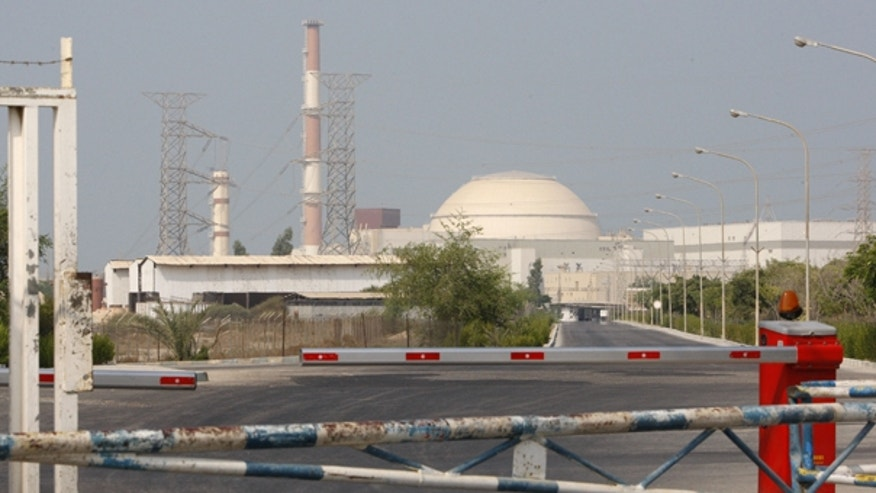 Aug. 20: The reactor building at the Bushehr nuclear plant is seen 750 miles south of the capital Tehran, Iran.