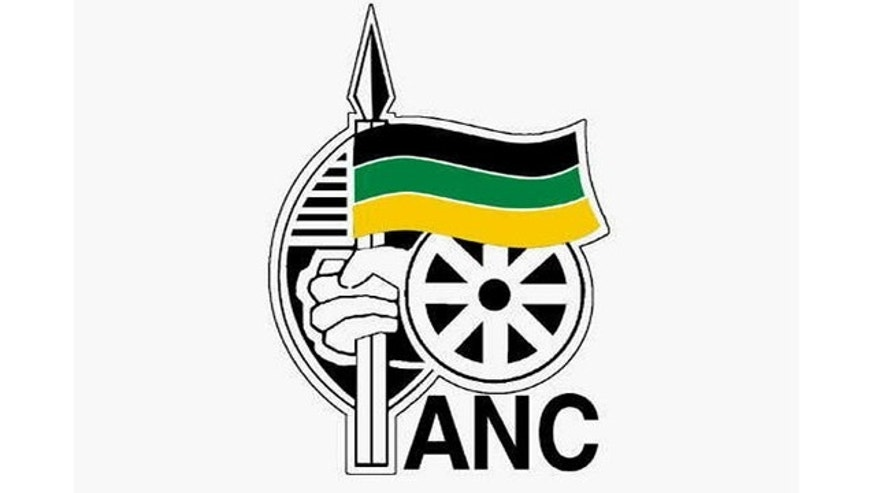 African National Congress logo.