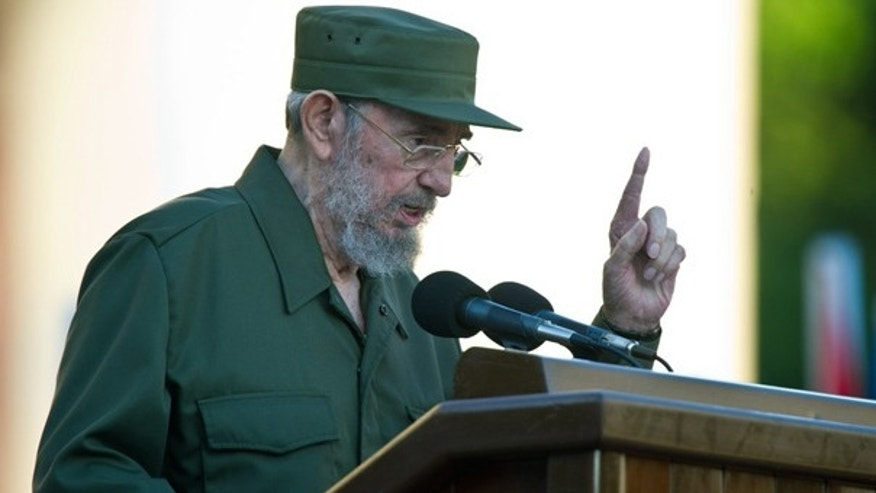 Sept. 3: Former Cuban President Fidel Castro speaks at Havana's University.