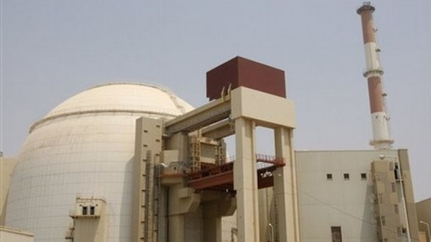Aug. 21: The reactor building of Bushehr nuclear power plant, just outside the southern city of Bushehr, Iran.