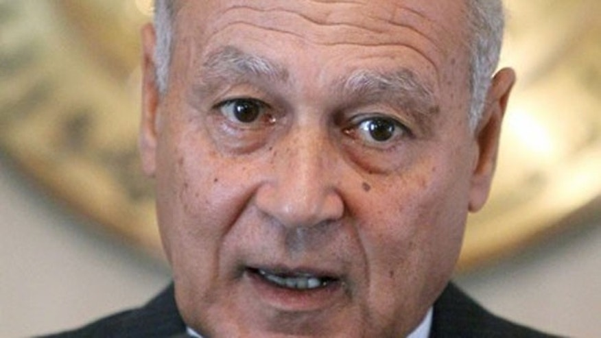 Egypt's foreign minister Ahmed Aboul Gheit says Arab nations may seek an alternative option to the peace process if Israel doesn't place a freeze on settlements.