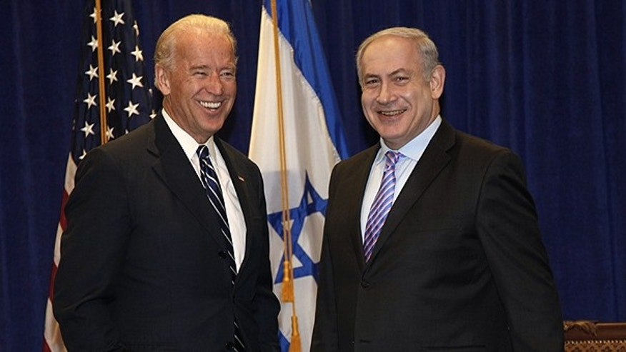 Nov. 7: Vice President Joe Biden meets with Israeli Prime Minister Benjamin Netanyahu at the annual General Assembly of the Jewish Federations of North America in New Orleans.