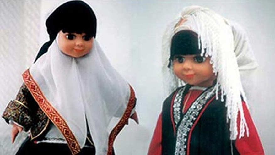 """Two previous dolls in Iran that were supposed to counter the West's """"Barbie"""" and """"Ken"""" -- """"Sarah"""" and """"Dara"""" -- were not very popular, but """"Fatima"""" has a more Islamic visage and is meant to battle against the """"enemies' cultural invasion"""" of Iran."""