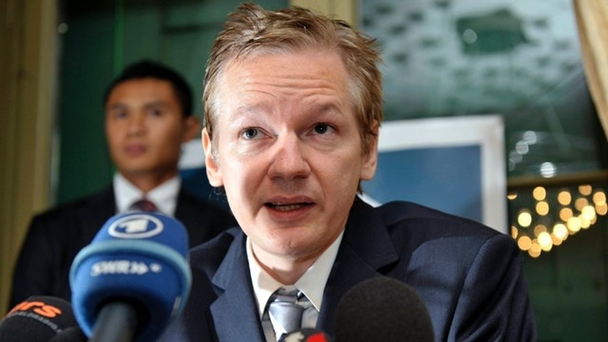 Nov. 4: Wikileaks founder Julian Assange speaks during a news conference at the Geneva press club, in Geneva, Switzerland.
