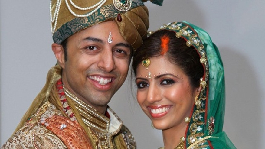 Undated handout photo of Shrien Dewani and Anni Dewani (right) made available by the Bristol Evening Post.