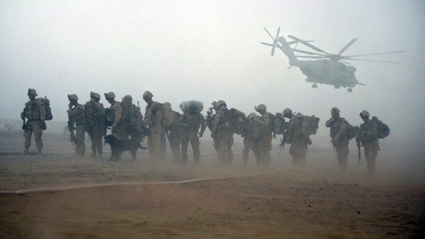 July 2009: U.S. Marines launched a major offensive into the Taliban heartlands of southern Afghanistan before dawn as President Obama's new war plan swung into action.