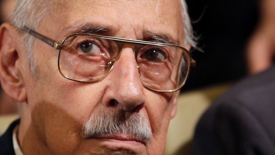 Dec. 22: Former Argentine dictator Jorge Rafael Videla attends the last day of his trial for crimes against humanity in Cordoba, Argentina.