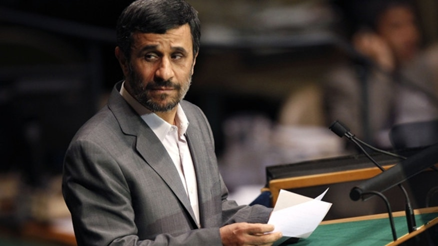 Sept. 21: Iranian President Mahmoud Ahmadinejad speaks at U.N. headquarters.