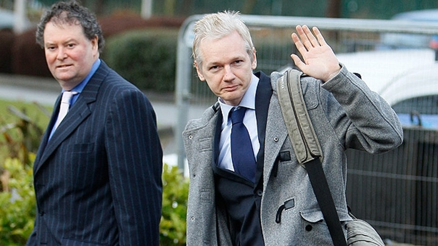 Jan. 11: WikiLeaks founder Julian Assange arrives at Belmarsh Magistrate's court in London for his extradition hearing.
