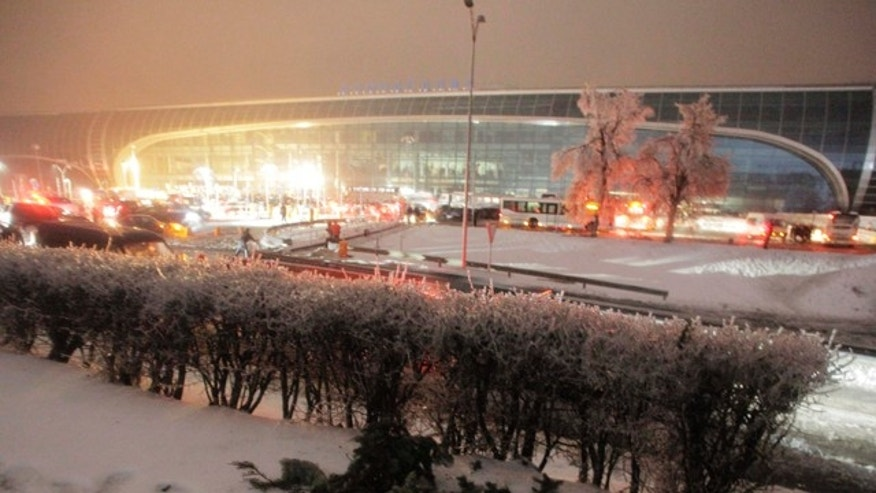 Dec. 26, 2010: Domodedovo airport in Moscow, Russia