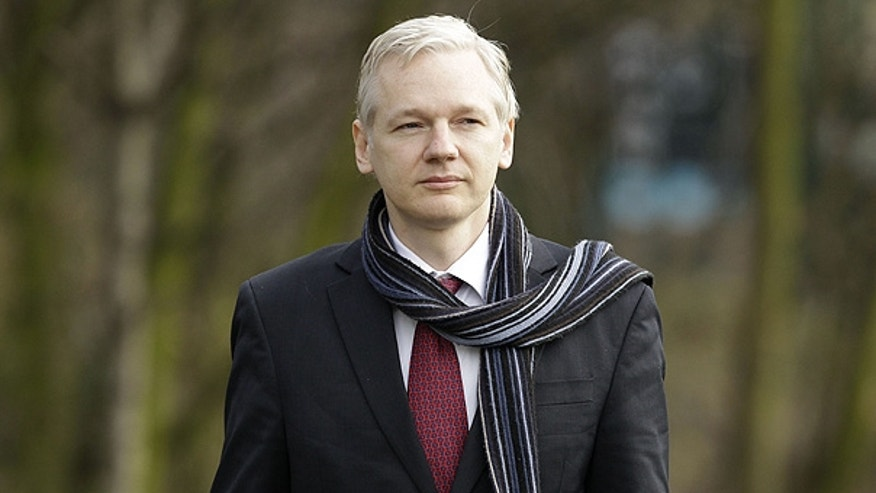 Feb. 24: WikiLeaks founder Julian Assange arrives for his extradition hearing in London.