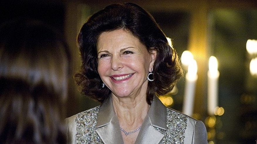 Jan. 19: Queen Silvia of Sweden attends a dinner for Estonian President Toomas Hendrik Ilves at Operaterrassen in Stockholm, Sweden.