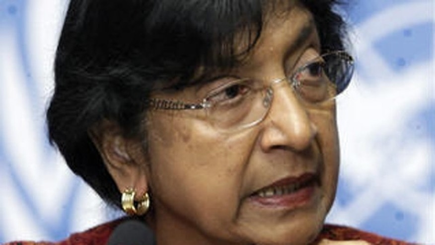 U.N. High Commissioner for Human Rights Navi Pillay