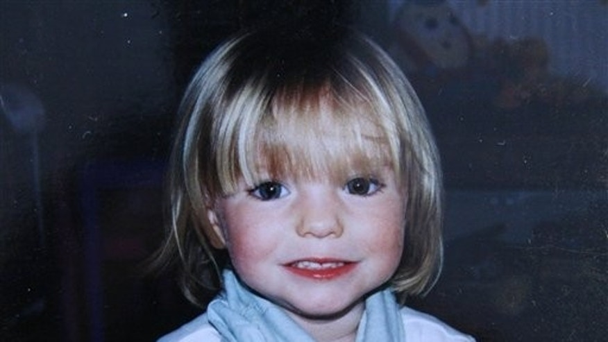 This May 2005 picture made available, Sunday, Sept. 16, 2007, by friends of the McCann family shows Madeleine McCann. (AP/PA)