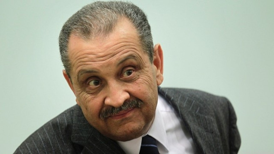 March 9: Shukri Ghanem, head of the state-run National Oil Corporation, addresses a news conference in Tripoli, Libya.