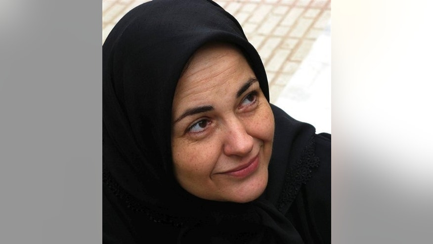This undated picture made available June 1, 2011, is said to show Haleh Sahabi in an undisclosed location.