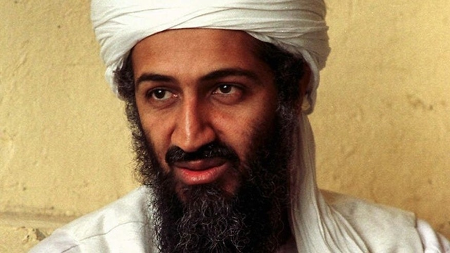 In this April 1998 file photo, exiled Al Qaeda leader Usama bin Laden looks on in Afghanistan.