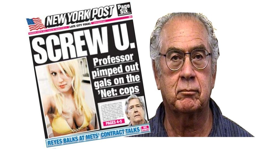 F. Chris Garcia, former president at the University of New Mexico, was arrested in connection with a prostitution ring, which was splashed on the cover the New York Post.