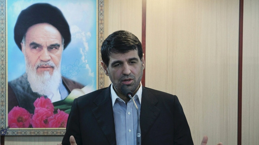 March 15:   Mohammad Sharif Malekzadeh, an ally of President Mahmoud Ahmadinejad, making an address in Tehran, Iran. On Tuesday Malekzadeh resigned from his recently appointed post as deputy foreign minister, part of a larger power struggle in Iran between supporters of President Ahmadinejad and those of the country's powerful Muslim Clerics.