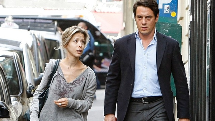 July 5: Tristane Banon and her lawyer David Koubbi leave his office in Paris.