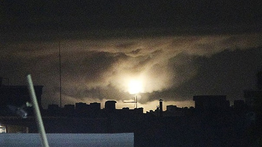 July 17: An explosion is seen following an airstrike in Tripoli, Libya. A series of explosions are going off to the east of the Libyan capital of Tripoli.