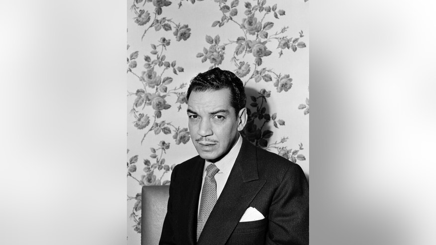 "October 24, 1949: Mexican comedian and actor Mario Moreno known as ""Cantinflas"" poses for a photo at an unknown location in New York City. Moreno is remembered in Hollywood for his roles in ""Pepe,"" 1961 and ""Around the World in 80 Days,"" 1957, for which he won a Golden Globe award for best actor in a comedy or musical."