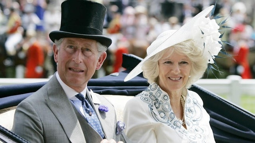 Prince Charles and wife Camilla pictured together in 2007.