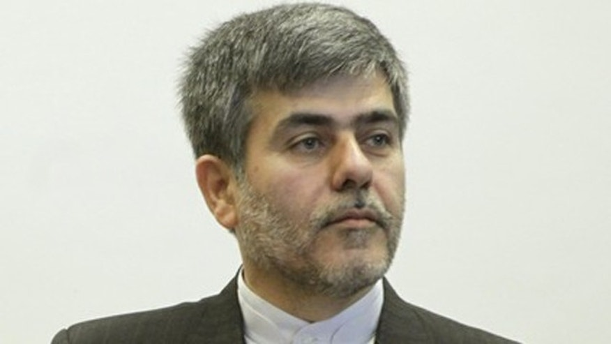 June 21, 2011: Iranian Vice President Fereidoun Abbasi attends a news conference during the Ministerial Conference on Nuclear Safety in Vienna.