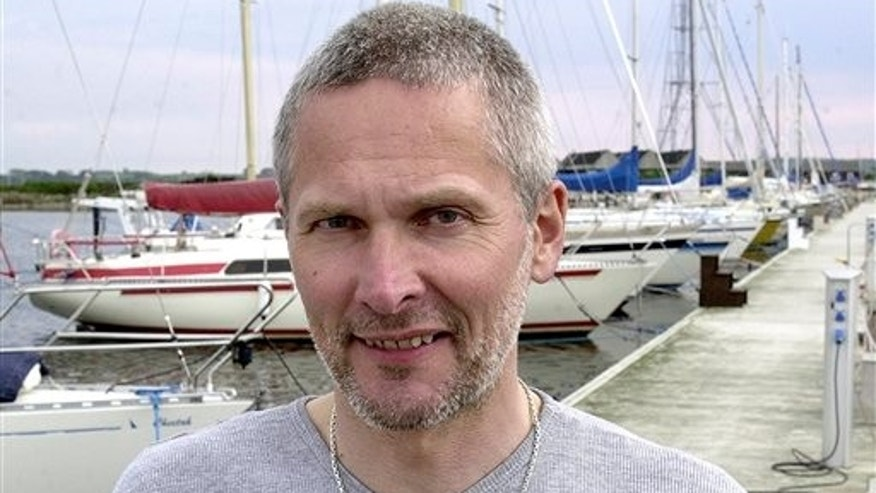 May 2004: Jan Quist Johansen in the harbor of Kalundborg, Denmark.