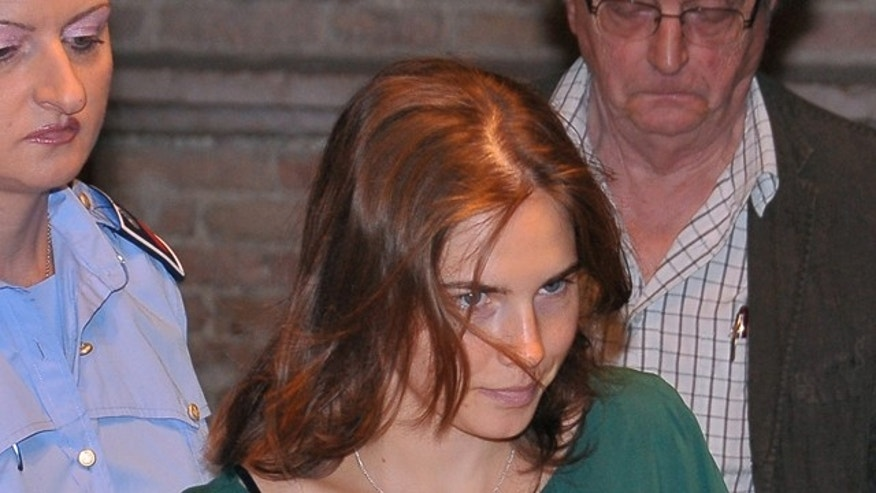 Sept. 7: Amanda Knox arrives at the Perugia court, Italy, to attend an hearing of her appeals case.