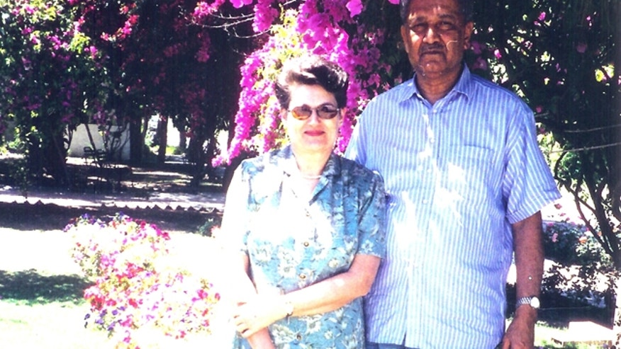 A.Q. Khan is seen with his wife in summer 2003 in this photo provided exclusively to Fox News.