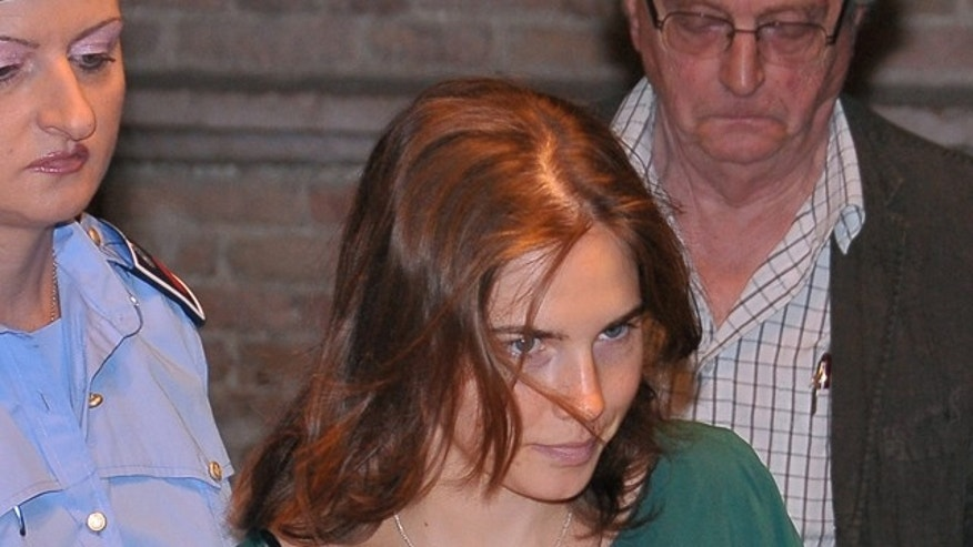 Sept. 7: Amanda Knox arrives at the Perugia court to attend a hearing of her appeals case.
